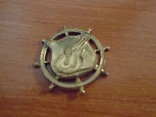 Original WW2 United States Army Transportation Corps Insignia Cap Badge Plate