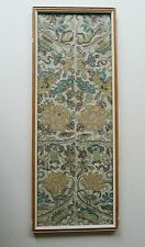 Chinese embroidered sleeves Forbidden stitch &  metallic thread Qing dynasty