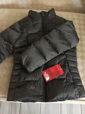 NWT NORTH FACE GIRLS ACONCAGUA DOWN JACKET, New Taupe Green, Size Medium
