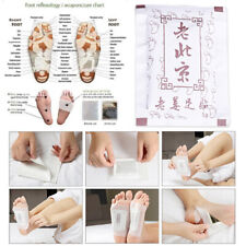 10Pcs Natural Ginger Detox Foot Pads Detoxify Cleansing Feet Health Care Supply