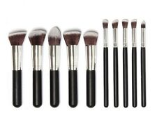 10pcs Kabuki Style Make Up Brush Set Professional Foundation Blusher Powder