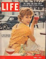 Life Magazine April 1 1957 Birthday Marie-Helene Arnuad VG 051816DBE