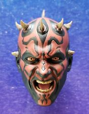 Hot Toys DX16 1/6 Scale Star Wars Phantom Menace DARTH MAUL ANGRY HEAD ONLY