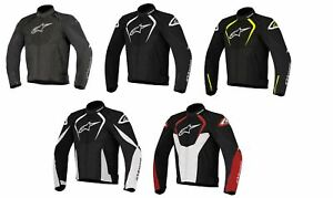Alpinestars T-Jaws WP Textile Waterproof Motorbike Motorcycle Jacket Sports