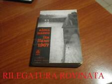 LIBRO ALMANACCO ITALIANO 1967 VOLUME LXVII C.E. GIUNTI BEMPORAD MARZOCCO USATO