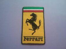 Ferrari Sew or Iron On Patch Racing Car Motorsport Badge