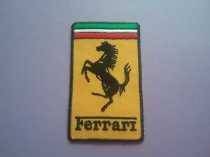 Ferrari Sew or Iron On Patch Racing Car Motorsport Badge