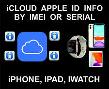 iCloud Owner info, Name, Number, Mail, Worldwide Service, iPhone, iPad, iWatch