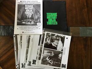 Teenage Mutant Ninja Turtles Movie Press Kit, TMNT, Laird, Eastman, New Line #1