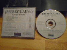 RARE ADV PROMO Jeffrey Gaines CD Toward the Sun rock Mitchell Froom pearl jam !