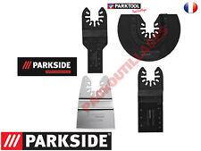 PARKSIDE PERFORMANCE Accessoires pour outil multifonction 4 pièces/bimétal
