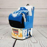 Sonic the Hedgehog 3 Pair Athletic Crew Socks Adult Sock Size 10-13 ST232