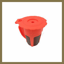 Keurig 2.0 K Carafe K-Cup Reusable Refillable Coffee K cup Pod Filter Orange