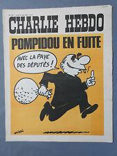 ►CHARLIE HEBDO N°120  - MARS 1973 - WOLINSKI