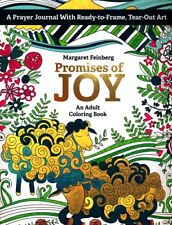Promises of Joy : An Adult Coloring Book by Margaret Feinberg (2016, Paperback)