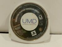 Monster Hunter Freedom Unite Sony PSP Playstation Game UMD only Tested Used