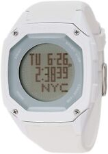 SHARK Freestyle White Men's Digital Display Multi Functional Dual Time Watch