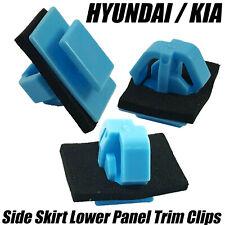 20x Clips For HYUNDAI Santa Fe KIA Sportage Side Skirt Moulding Door Trim Panel
