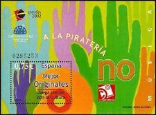 [EF0164] España 2002, HB Juvenia: Música (MNH)