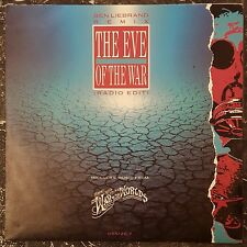 "Ben Liebrand Remix* –War Of The Worlds - The Eve Of The War (Radio Edit) 7"""