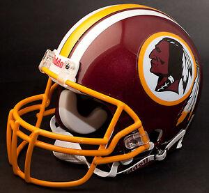 DONOVAN McNABB Edition WASHINGTON REDSKINS Riddell REPLICA Football Helmet NFL