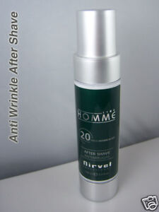 Anti Ageing and Anti Wrinkle Action Aftershave for men WITHOUT ALCOHOL Refresh