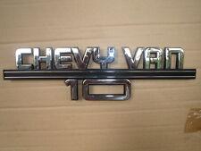 75-87 Chevy Van 10 Chrome side Trim 15640708 see rear mount three post