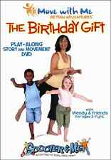 Birthday Gift: Play-Along Story & Yoga Movement (DVD) NEW, kids fitness exercise