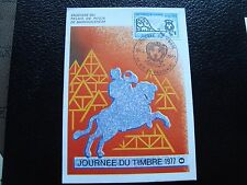 FRANCE - carte 1er jour 26/3/1977 (journee du timbre) (cy92) french