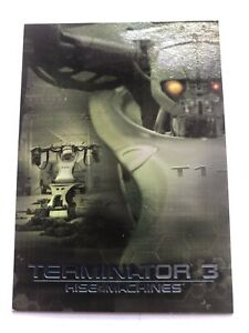 Terminator Rise of the Machines C1-6 Foil Cards by Comic Images in 2003