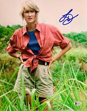 Laura Dern Authentic Signed 11x14 Photo Jurassic Park - Beckett BAS 7