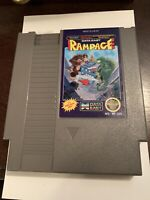 Rampage Nintendo NES Game Authentic *Cleaned & Tested*
