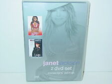 "**DVD-JANET JACKSON""2 DVD-SET COLLECT.EDIT.-VELVET ROPE TOUR & LIVE IN HAWAII""**"