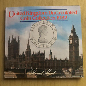 1982 United Kingdom Brilliant Uncirculated 7 Coin Set