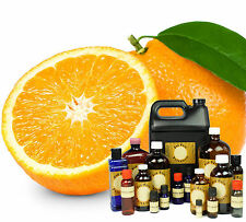 16 oz SWEET ORANGE PURE ESSENTIAL OIL * SHIPPING DEAL AMBER GLASS BOTTLE