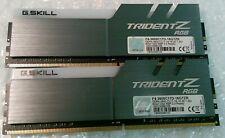 16GB 2x8GB G.Skill Trident Z F4-3600C17D-16GTZR PC4-28800 DDR4-3600 1.35v Ram