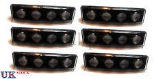 6x Blanco Lámparas Luces de posición frontal transparente LED Visera DRL cabina Scania Camión 24V