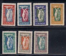 Lithuania  1922  Sc # C8-14   MLH  OG   (49914)