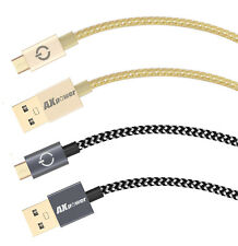 AXPOWER®28AWG MICRO USB FAST DATA CHARGER GENUINE CABLE LEAD FOR SAMSUNG SONY LG