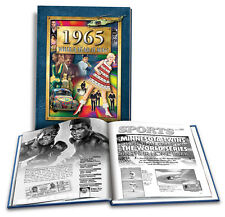 1965 What a Year It Was 52nd Birthday or 52nd Anniversary Gift (2nd Edition)
