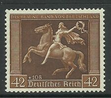 GERMANY. 1938. Brown Ribbon of Germany Commemorative. SG: 659. Mint Never Hinged
