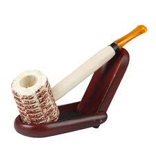 1Pc Real Corn Cob Wooden Wood Handle Smoking Pipe Tobacco Cigarettes Cigar Pipes
