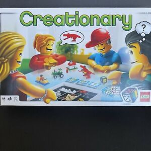 Lego Creationary Board Game Year 2009 Great Condition (only missing two pieces)