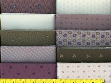 "Plum Fantasy Jelly Roll 40 -2 1/2 "" Strips Quilting & Sewing Fabric"