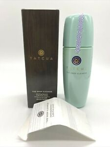 TATCHA The Deep Cleanse Clarifying Exfoliating Cleanser 5 oz FULL SIZE SEALED