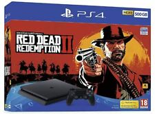 Sony PlayStation 500 GB Console and Red Dead Redemption 2 (PS4, 2018)