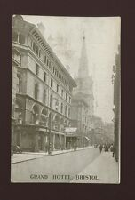 Glos Gloucestershire BRISTOL Grand Hotel Used 1912 PPC