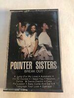 Pointer Sisters Break Out Cassette Tape Bek1-5410