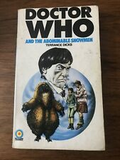 Doctor Who And Abominable Snowmen By Terrance Dicks *1974 Good Condition*