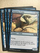 Snapping Drake Magic The Gathering 2019 Core Card Mint X4 Lot New 🔥🔥